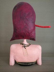 Büste Dorothea von hinten