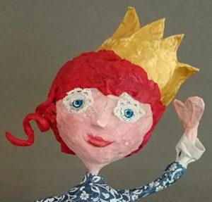 Prinzessin aus Pappmachee
