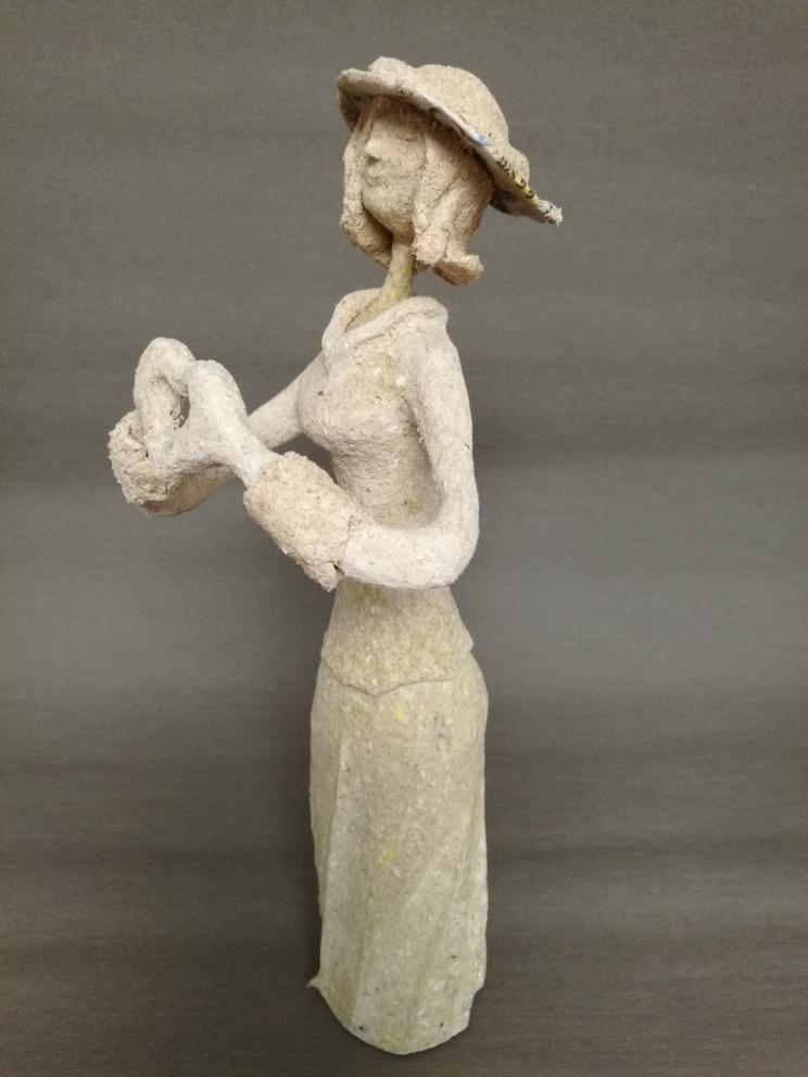 Workshop Pappmaché Skulpturen schöner Frauen