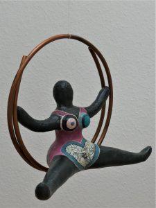 Skulptur im Stil von Niki de Saint Phalle