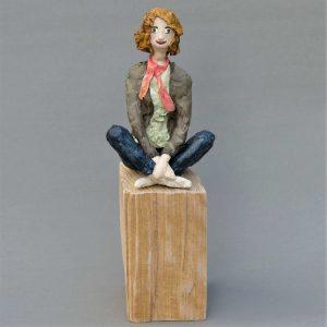 Jasmin Skulptur aus Pappmachee