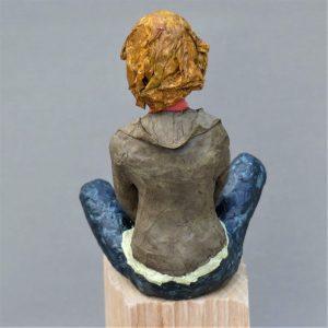 Jasmin Skulptur aus Pappmachee 3