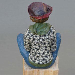 Skulptur aus Pappmache
