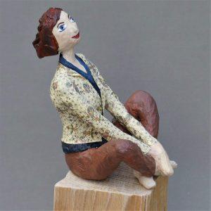 Frau aus Pappamchee