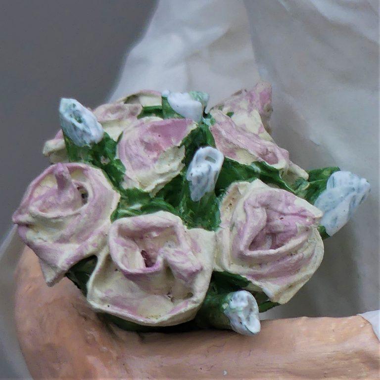 Hochzeitspaar aus Pappmachee_6