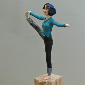 Figur im Yoga